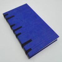 Libro abierto, encuadernación crisscross II