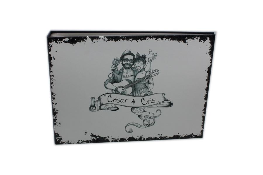 Personalizaciones Álbum de boda el telar encuadernación de salamanca