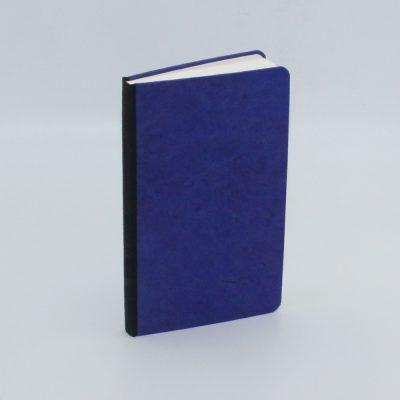 Encuadernación metida en tapas azul y negro, el Telar encuadernación.